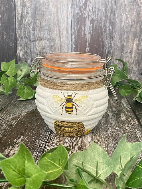 Bumblebee Kilner Honey Pot