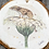 Thumbnail: Mouse On Flower - Hollie Childe - Natural Hanging Wood Slice