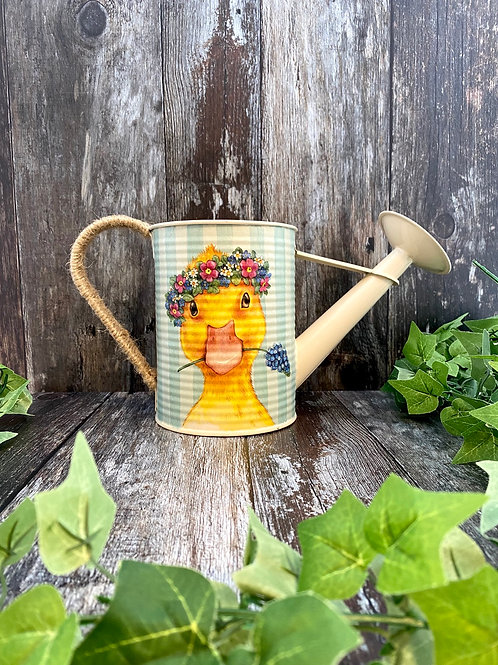 Unique Easter Duckling Watering Can