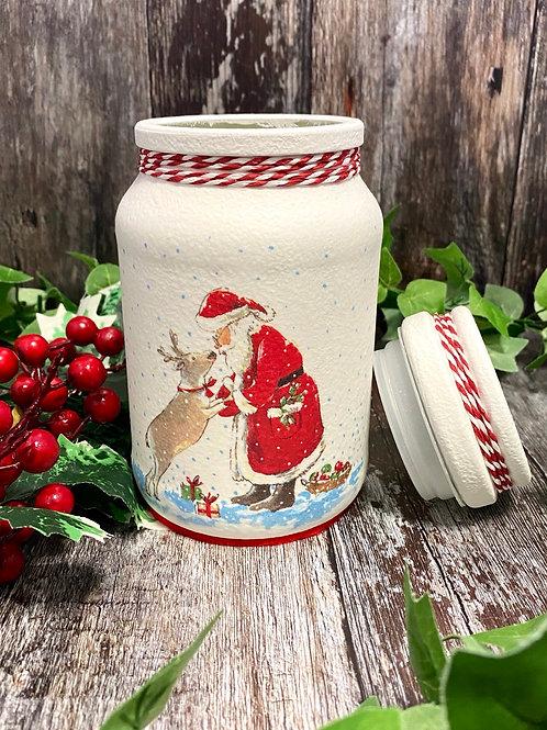 Father Christmas Sweety Jar
