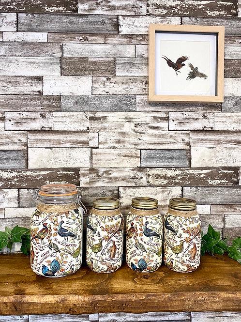 Game Bird Kilner Jar