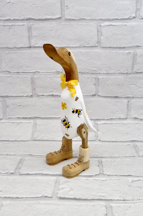 BOOTED WOODEN BEE DUCK
