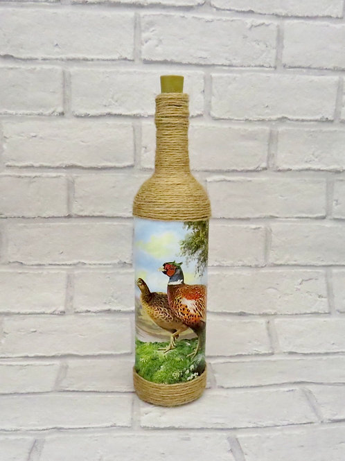 PHEASANT LIGHT UP BOTTLE