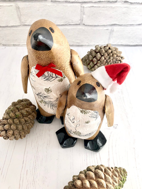 Bamboo Root Penguins