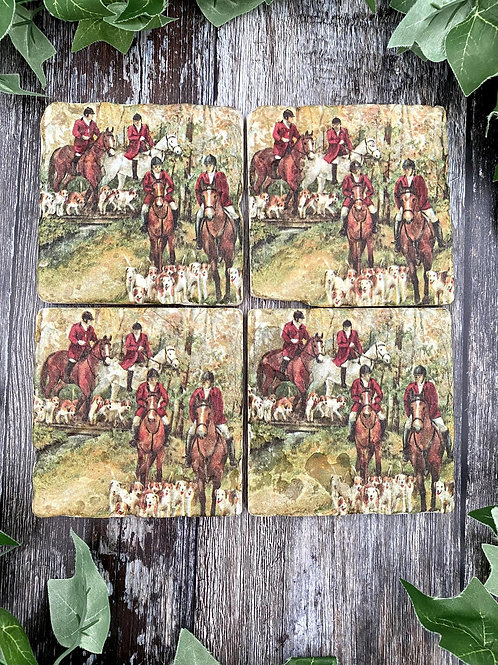 Countryside Hunt Coaster Set