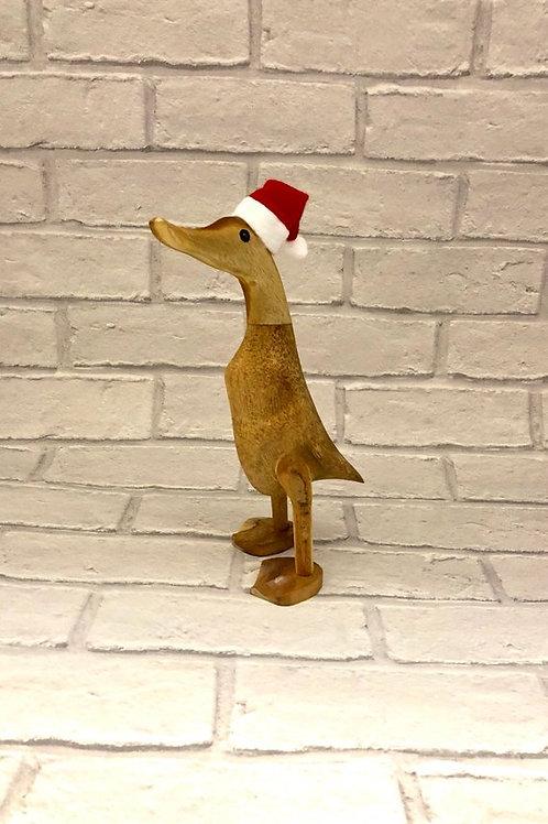 CHRISTMAS WOODEN DUCK