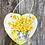 Thumbnail: Daffodil Slate Heart Plaque