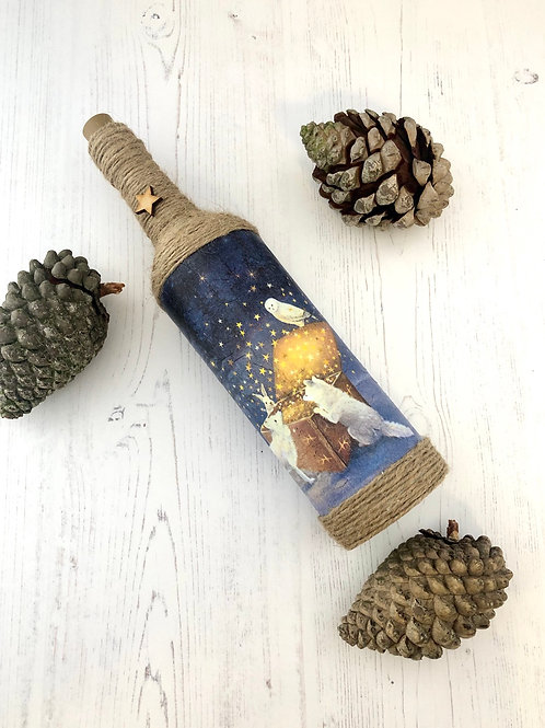 MAGICAL WINTERS NIGHT LIGHT UP BOTTLE