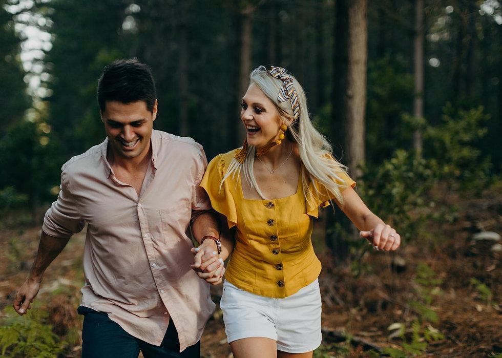 Dieter en Alecia Cecilia Forest Cape Tow