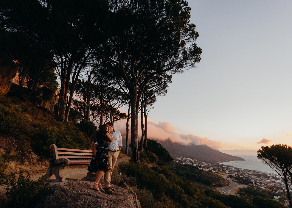 SP and Pietje Table Mountain Engagement