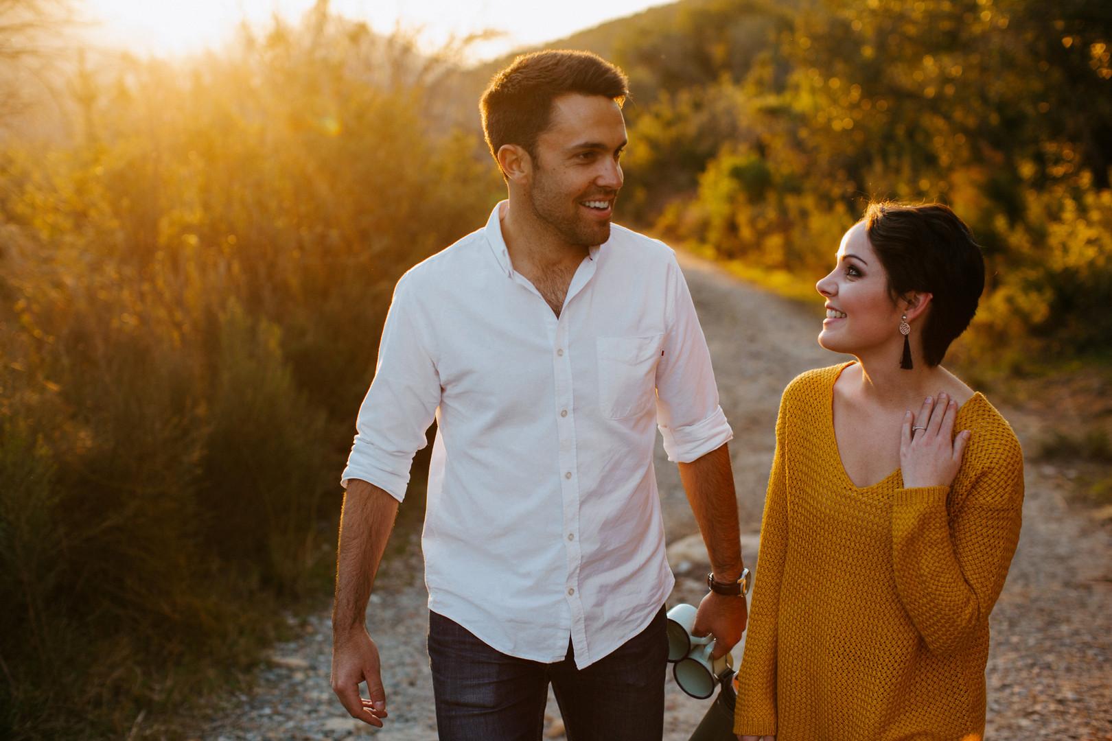 Leonard and Jani Jonkershoek Mountain En