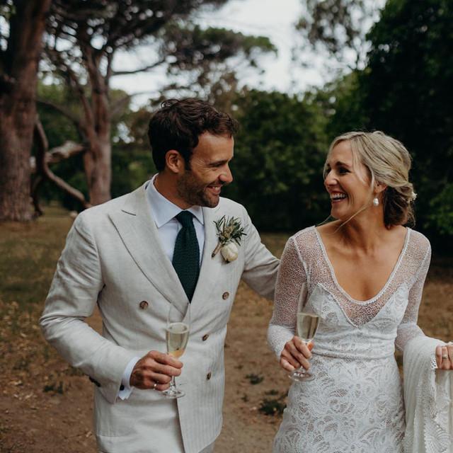 A RELAXED GARDEN WEDDING
