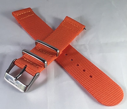 Atomic Orange 20mm Quick Release Strap
