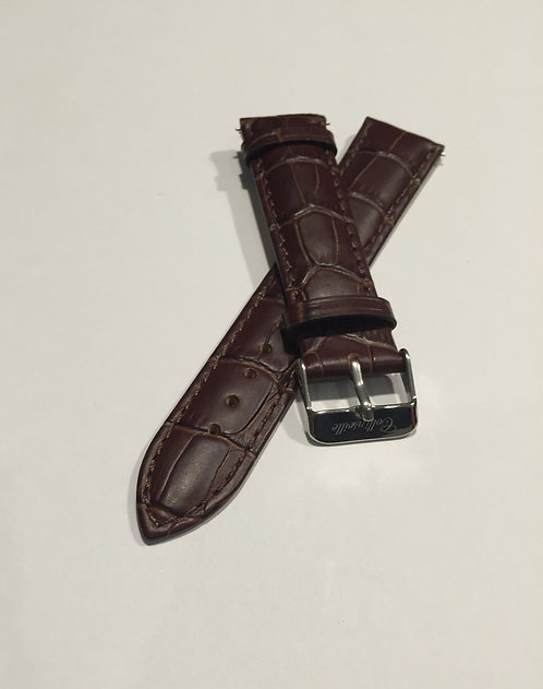 Brown Leather 18mm Quick Release Band