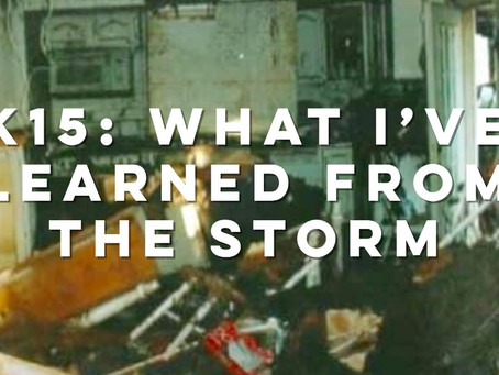 K15: What I've Learned from the Storm