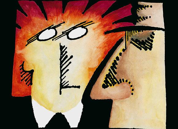 Snooks (Jim Shepard & Eric Svensson) I Unfinished Business LP