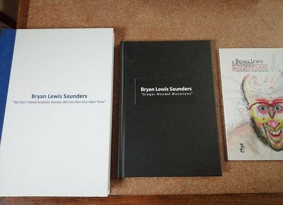 Bryan Lewis Saunders I  3x book lot