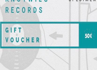 Gift Voucher  I  50 EUR