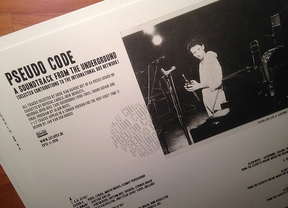 Pseudo Code I  A Soundtrack From The Underground 2lp+cd
