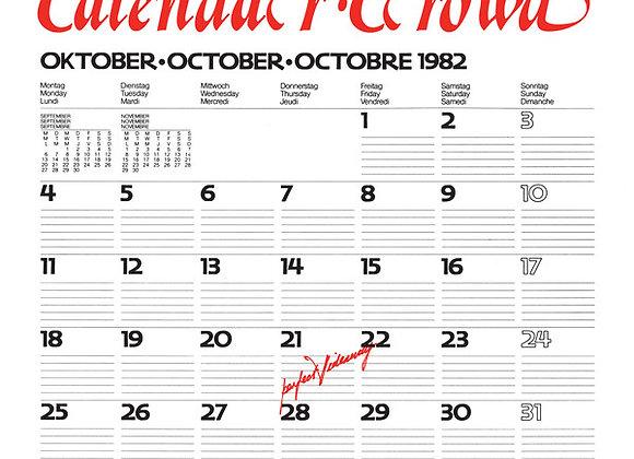 "Calendar Crowd I Perfect Hideaway 12"""