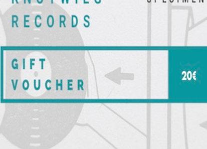 Gift Voucher  I  20 EUR