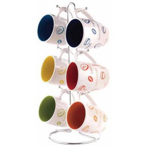 6 piece coffee mug set