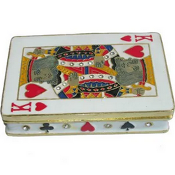 PLAYING CARD COLLECTIBLE BOX