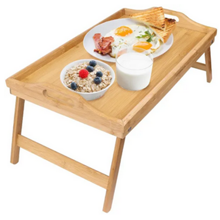 BAMBOO BREAKFAST BED TABLE