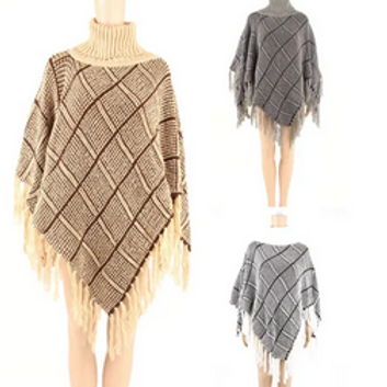 WOMAN'S PONCHO - ONE SIZE FITS MOST