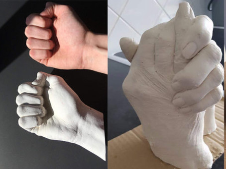 Life Casting by 3D Hand Impression