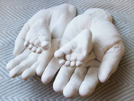 We Create Hand and Foot Impressions for Babies