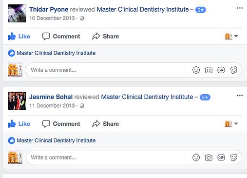 dental classes online
