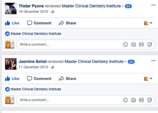 dental classes online