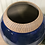 Thumbnail: Decorative Pottery Vase, Cobalt Blue Vase,