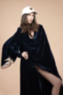Editorial, ellements magazine, christelle mbazoa, edg, high ashion, couture, dmg models, out of the box, quetsche, edge, blue