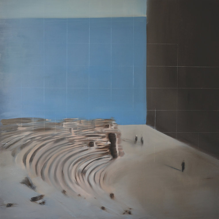 2014_Gabi-Gallego_Un-teatro-de-memoria_oleo_sobre_lino_