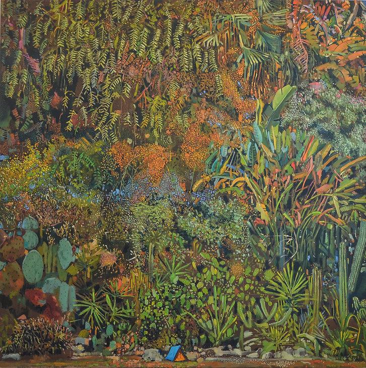 Gabi Gallego_El Utopiano_150x150cm_oleo