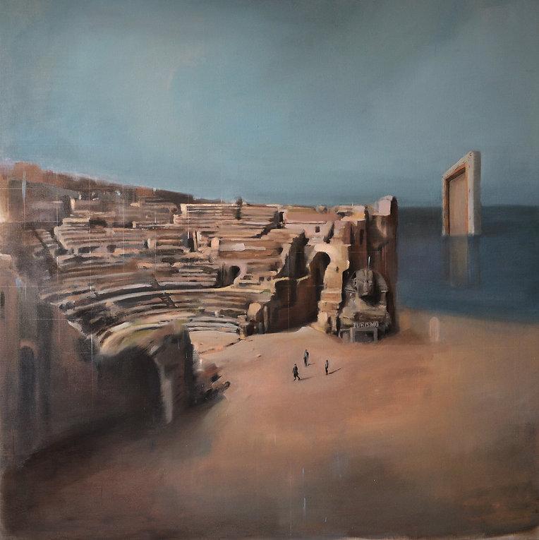 2014_Gabi-Gallego_Tierra-y-mar-de-una-realidad-simulada_oleo-sobre-lino_