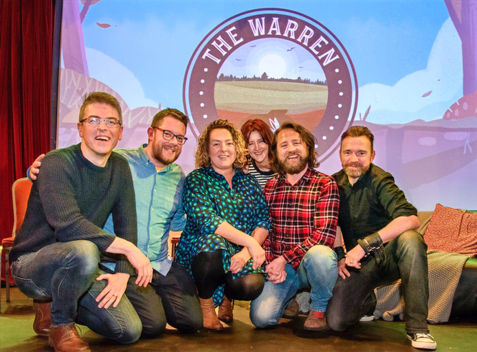The Warren podcasters