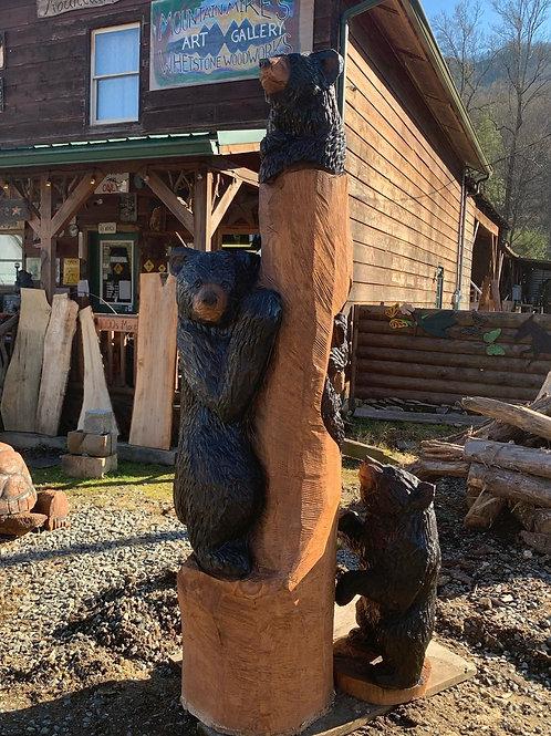8 ft Bear Totem