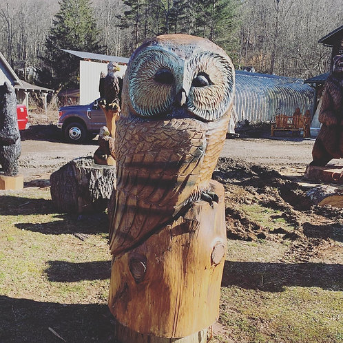 Giant Owl or Eagle
