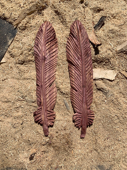 "34"" Aromatic Cedar Feathers"