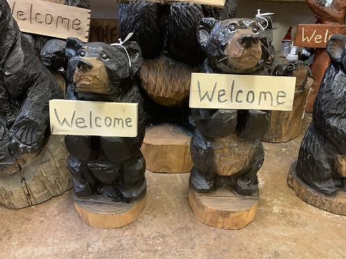 "20"" Welcome/Go Away Bear"