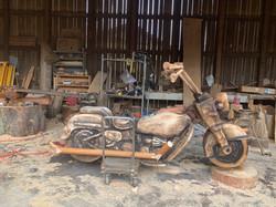 12 ft Custom Harley Davidson Replica