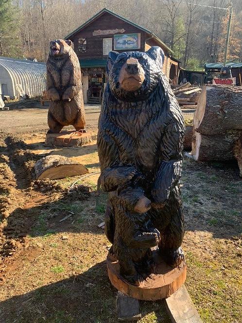 6 ft Bear & Cub