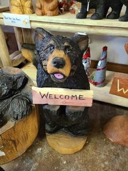 """30"""" Welcome Bear"""