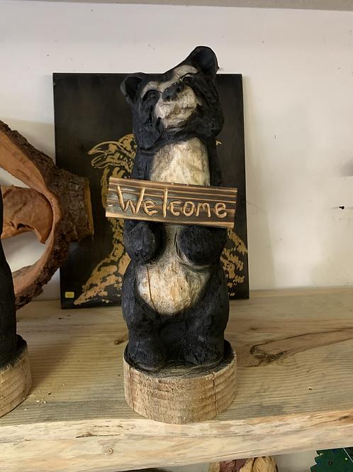 """18"""" Welcome bear"""