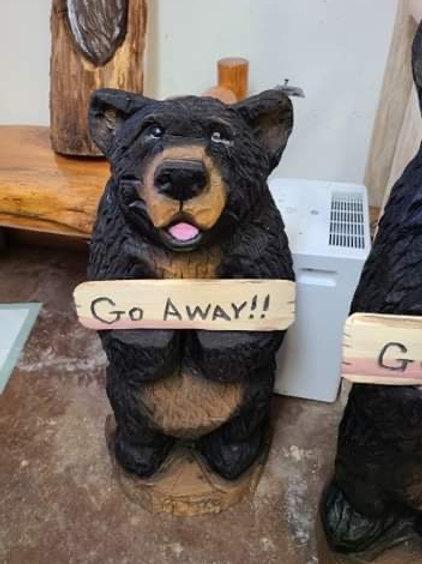 "32"" Welcome/ Go Away Happy Bear"