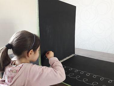 Tableau de Mesker, Rééducation de l'écriture, rééducation du geste graphomoteur, troubles de l'écriture, difficultés d'écriture, repérage spatial