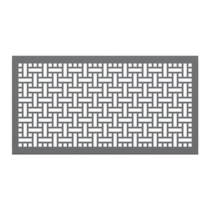 5' Partition Panel- Square Weave